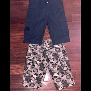 Diesel Boys Shorts Size 12 Bundle of 2 Pair